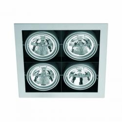 Helio 5 Lamp Recessed Grey 4L