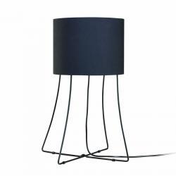 Asmat Lampe de table Noir