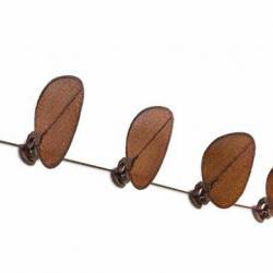 Punkah Fanimation Fan Ceiling/Pared Brown 5 blades ø363cm