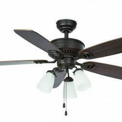 Lindos Fan with light Brown 5 blades ø112cm