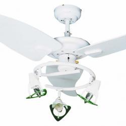 Guadix Fan with light white 3 blades ø122cm
