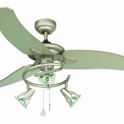 Guadix Fan with light Grey 3 blades ø122cm