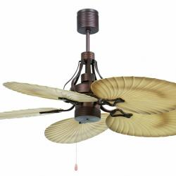 Tropical Fan Ceiling Brown 5 blades ø132cm