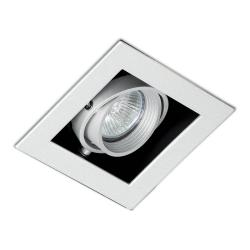 Falcon Recessed adjustable Grey 1xGU10 50W