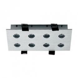 LUXE 8W Downlight LED Cuadrado Aluminio 25º 5000ºK