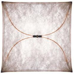 Ariette 2 Wall lamp 100cm 4x40W E27 Synthetic fabric