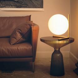 IC T2 Table Lamp E27 205W Chrome