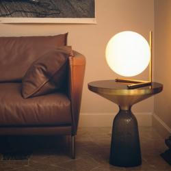 IC T2 Lampe de table E27 205W Chrome