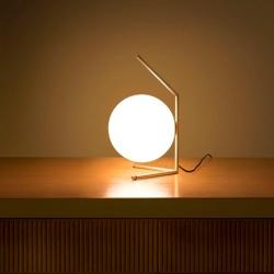 IC T1 Table Lamp decline E14 60W latón cepillado