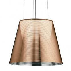 Ktribe S2 Pendant Lamp ø39,5cm 1x150w E27 Aluminizado Bronze