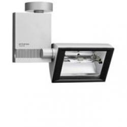 Compass Spot ceiling lamp W w Grey HIT-DE cri 70w