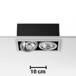 Battery 2L Black 2xCDMR 111/GX8.5 70W