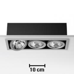 Battery 3L Black 3xCDMR 111/GX8.5 70W