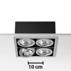 Battery 4L Black 4xCDMR 111/GX8.5 70W
