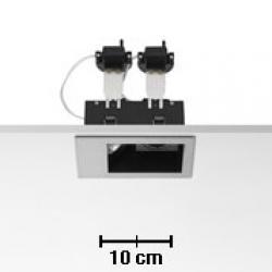 Micro Battery 2L white 2xQR-CBC 51 50w