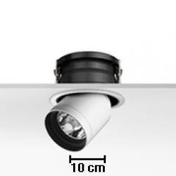 Pure 3 Downlight for CDMR 111 Lamp 70W Black