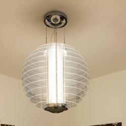 0024 lamp Pendant Lamp 2x36w 2G11 Chrome