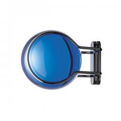 Aixo Mateix Colgador of wall 7x9x7cm Blue Cobalto