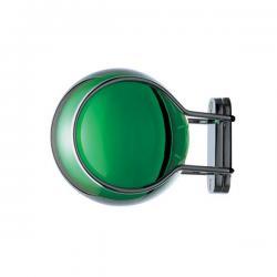 Aixo Mateix Colgador of wall 7x9x7cm Green