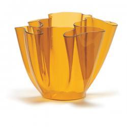 Cartoccio Jarrón 15cm Glas natural Gelb