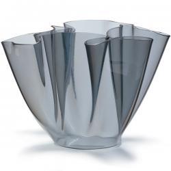 Cartoccio Jarrón 15cm Glas natural Grau