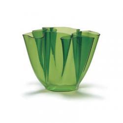 Cartoccio Jarrón 15cm Glas natural Grün