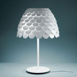 Carmen Table Lamp ø51x75cm 3x20w E27 white
