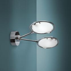 Nobi Wall Lamp 2 lights 2x120w R7s HA Chrome