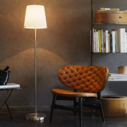 3247 lámpara de Pie blanco ø32x150cm 1x20w E27 (FL)