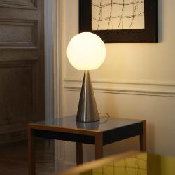 Bilia Table Lamp niquel Ø20x43cm 1x42w E14 (HL)