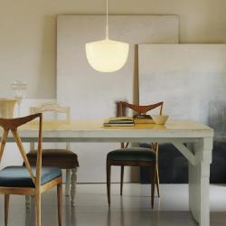 Cheshire Lamp Pendant Lamp white 3x23w E27