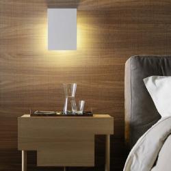 Corrubedo Wall Lamp 20x20x7cm 1x33w G9 (HL) white