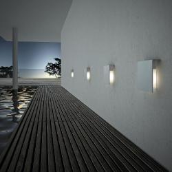Corrubedo Wall Lamp white Shiny LED 2x3w 350mA