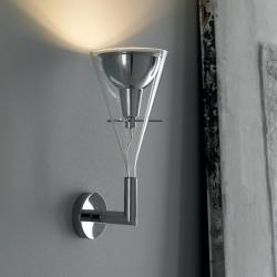 Flute Wall Lamp 18x23x46cm 1x205w E27 (HL)