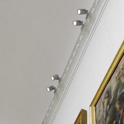 Gallery Spotlights for rail 130MH 150W G12 (incl. Power Supply o transformador)