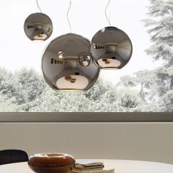 Globo Di Luce Pendant Lamp Chrome ø20x19x250 1x40w E14 (HL)