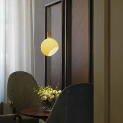 Parola lámpara Pendelleuchte 3,5W LED G9 ámbar