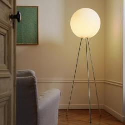 Prima Signora lámpara of Floor Lamp (Structure) ø50x180cm 1x205w E27 (HL) Chrome
