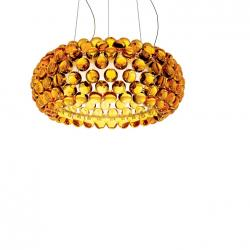 Caboche LED Pendant Lamp ø50cm LED 35w 3000K dimmable cab 5m Yellow Gold