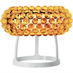 Caboche Lampe de table Grand Or Jaune