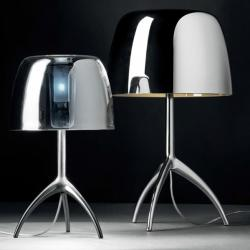 Lumiere 25TH Lampe de table Grand avec dimmer - Champagne