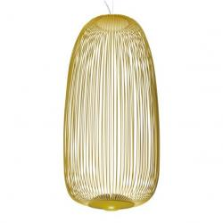 Spokes 1 Lampe Suspension Jaune