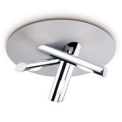 Adagio ceiling lamp ø40,5cm 3xG9 75w bright chrome