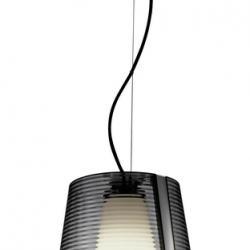 Emy Lámpara Colgante 31cm 1xE-27 Max 30W - Difusor acrilico Cromo