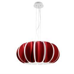 Blomma Pendant Lamp E27 3x23w - Red