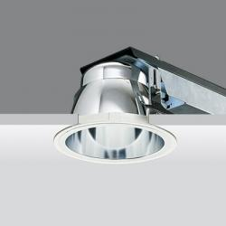 Downlight óptica electronic equipment 2xtc the 7w 2g7