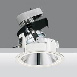 Downlight reflex óptica adjustable cono of light 18º qt 12 100w 24v gy6.35