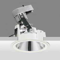 Downlight reflex óptica adjustable qr 70 50w 12v ba15d