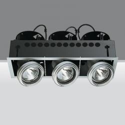 luminary trimmer 3 bodies opticos 3xpar 30 75w E27