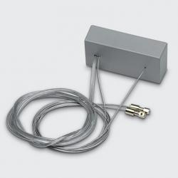 Base de Alimentación con Cables de Suspensión (para Versiones con Equipo electrónico regulable y emergencia) Base de Alimentación con Cables de Suspensión (para